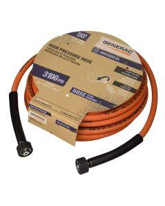 "Generac 50' x 5/16"" Orange Pressure Washer Hose 6620"