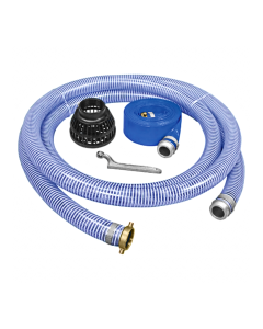 "Generac 2"" Hose Kit for 2"" NPT Water & Trash Pumps - 20' PVC Suction Hose  PA0650201"